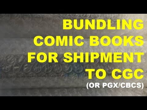Bundling Comic Books for Shipment to CGC