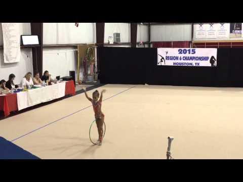 Miami Gymnastics & Dance Academy. Sophia P. Regionals 2015