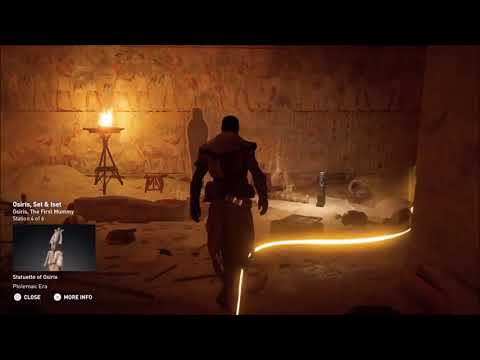 ACO Discovery Tour by Assassin's Creed: Ancient Egypt - Osiris, The First Mummy