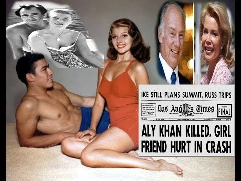 AGA KHAN, MOTHER  Rita Hayworth have to say about AGA KHAN,S FAMILY