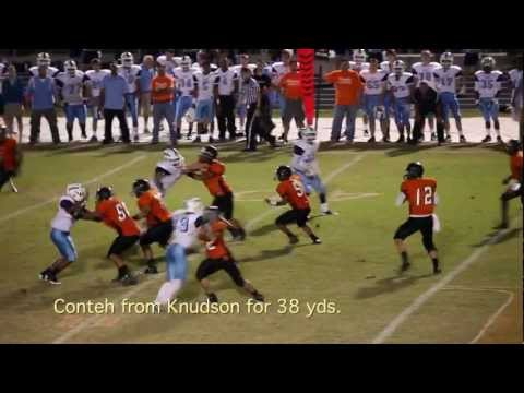 2012 Yorktown vs Hayfield Football Highlights