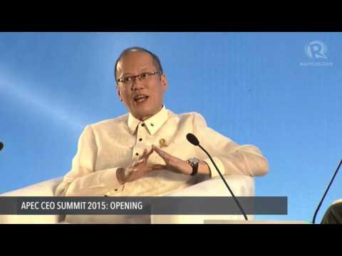 APEC CEO SUMMIT 2015: Aquino Q&A with CNN's Andrew Stevens
