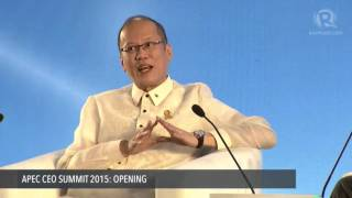 APEC CEO SUMMIT 2015: Aquino Q&A with CNN