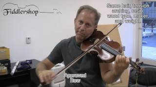 Importance of a Great Violin Bow