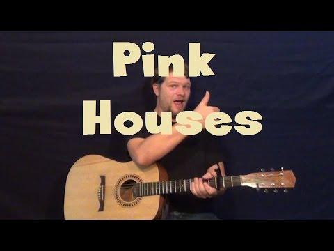 Pink Houses John Mellancamp Easy Strum Guitar Lesson With Licks