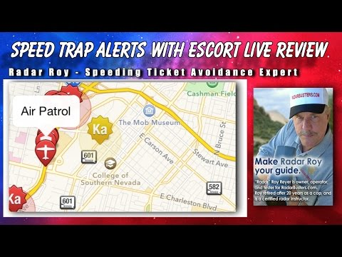 Live Escort Review >> Speed Trap Alerts With Escort Live Review