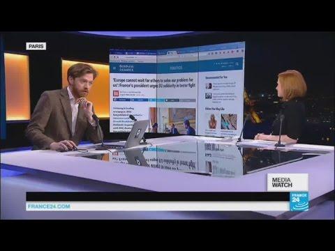 Hollande gives interview to 'Bild'