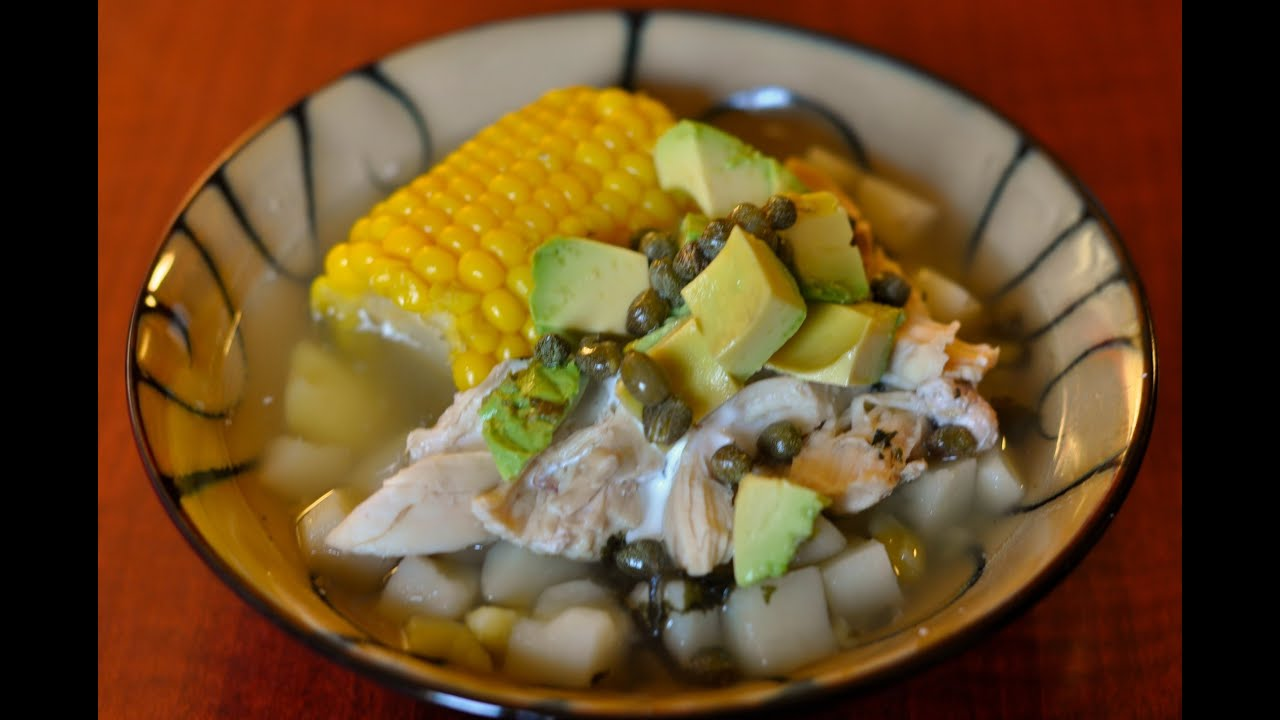 Ajiaco bogotano colombian potato stew recipe youtube ajiaco bogotano colombian potato stew recipe forumfinder Image collections