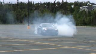 Hyundai Genesis drifting