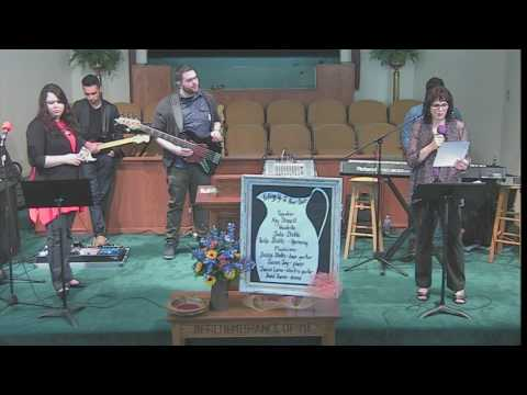 WC 1   Women's Conference at First Baptist Church   Broaddus, Texas   April 2017