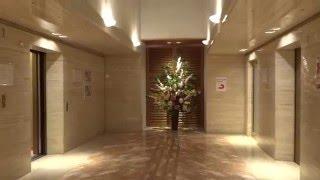 Very Nice 1998 Toshiba Traction Elevators/Ls@Washington Hotel Kansai Airport***, Osaka Pref., Japan
