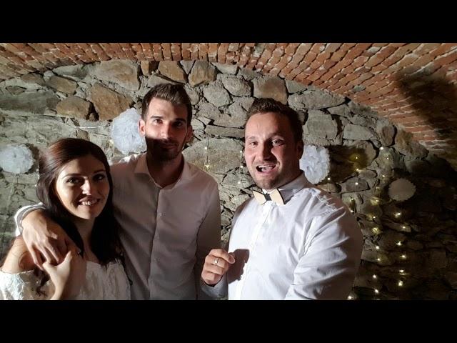 31.8.2018 - Pozrite si krátke video priamo zo svadby, ako sa Michalovi a Lucce im páčila zábava