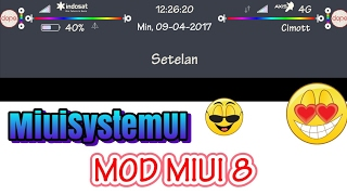 [PREVIEW] Download systemUI mod MIUI 8 UPDATE FIX