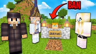 HARDKOROWA FERAJNA: ŚMIERĆ = BAN!  - Minecraft Ferajna!