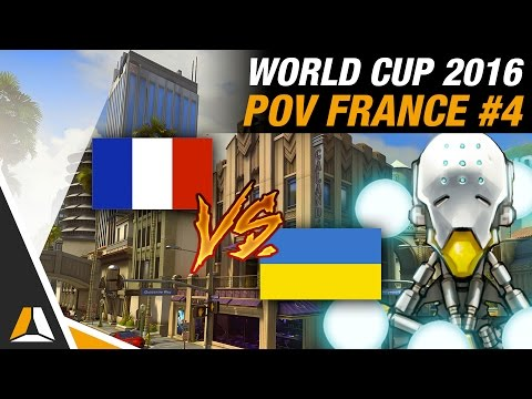 FRANCE vs UKRAINE 2 ► HOLLYWOOD POV SUPPORT  OVERWATCH WORLD CUP 2016