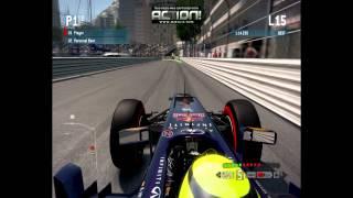 F1 2013 - Monaco - Infinity Red Bull Racing Renault - Hotlap - 1:13:142
