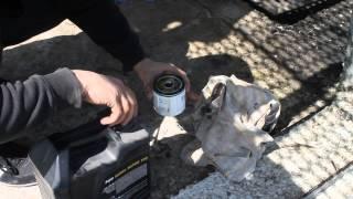 видео замена моторного масла