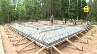 Утеплённая шведская плита. Фундаменты // FORUMHOUSE(Утеплённая шведская плита -- новый и интересный вид фундамента. При его закладке одновременно закладываютс..., 2012-08-08T08:45:43.000Z)