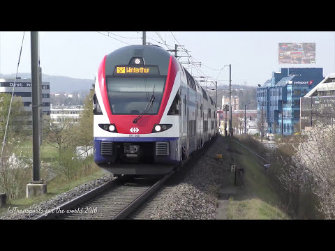 Transports In Zurich Kloten: Train, Tram, Bus And Planes