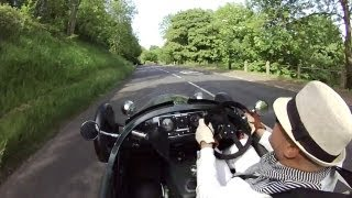 Driving The Morgan 3 Wheeler: UK Part 3 of 4 - /LIVE AND LET DRIVE