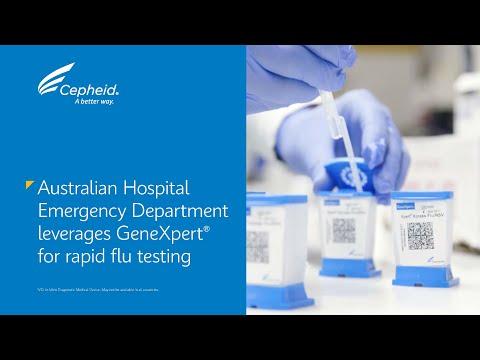 Australian Hospital Emergency Department leverages GeneXpert® for rapid flu testing.