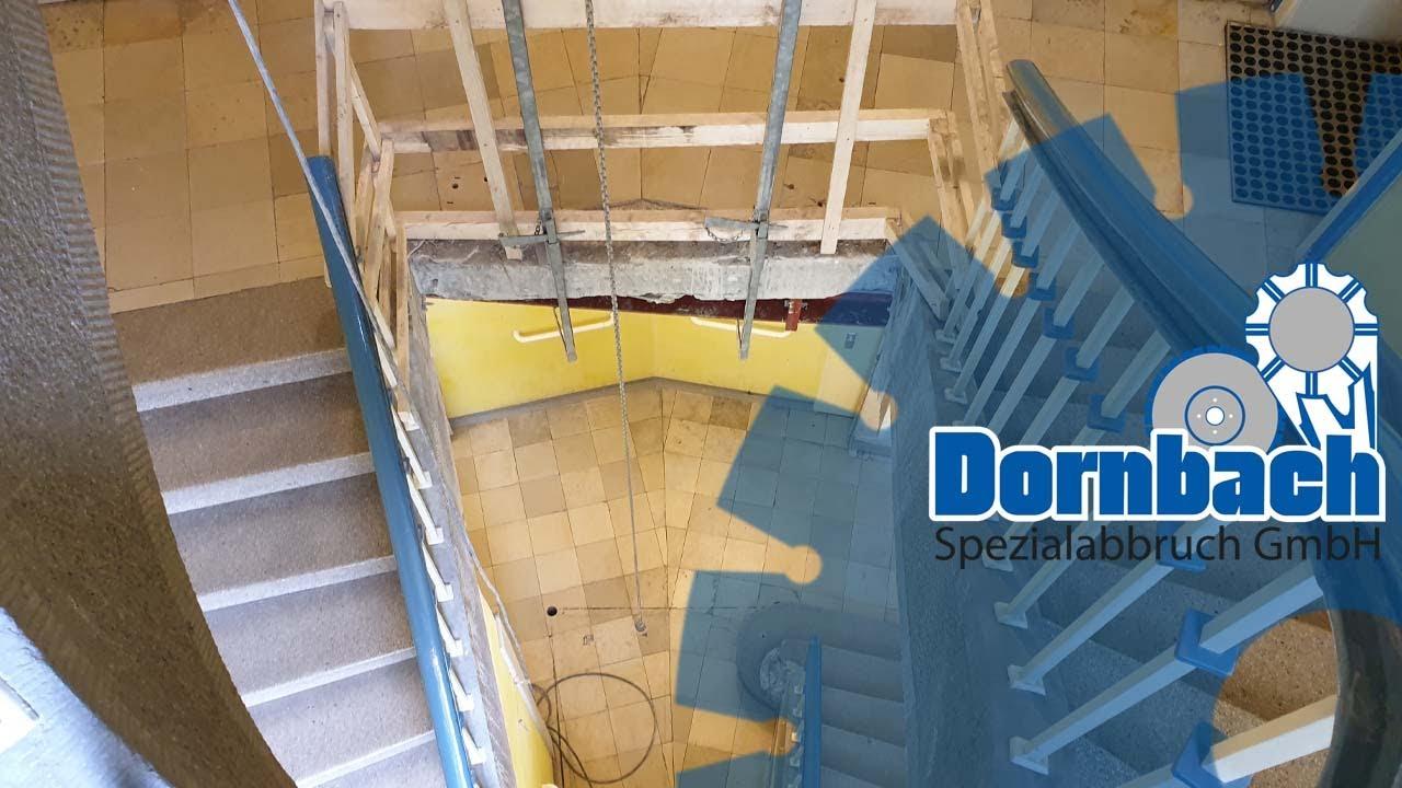 Berühmt Treppenhaus umbauen für einen nachträglichen Fahrstuhl. - YouTube SD06