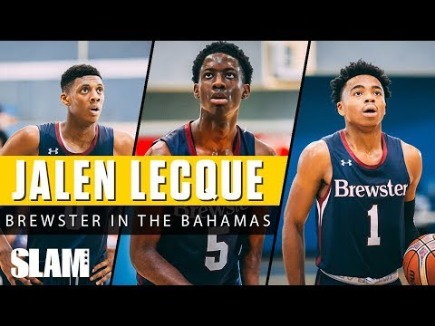 Jalen Lecque and Brewster Put On a DUNK SHOW in the BAHAMAS! | SLAM Highlights