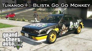 Tunando+: Blista Go Go Monkey | Carro SUPER RARO | GTA V Nova geração [PT-BR]