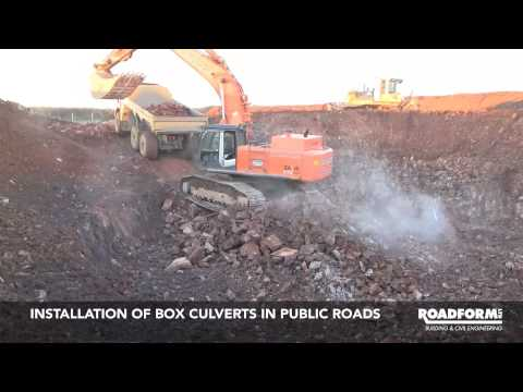 Roadform Ltd - Civil Engineering Contractors - Fullabrook Wind Farm