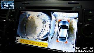 система кругового обзора для автомобиля 360 Bird-View (FlyAudio-BDV360H-4CH)