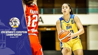 Bosnia and Herzegovina v Croatia - Full Game - FIBA U18 Women's European Championship 2019