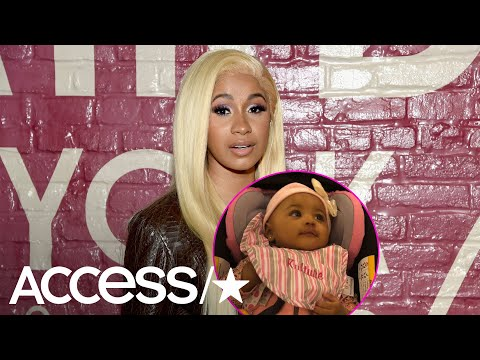 Cardi B Shares First Photo Of Baby Kultures Face Hours After Announcing Split From Offset   Access