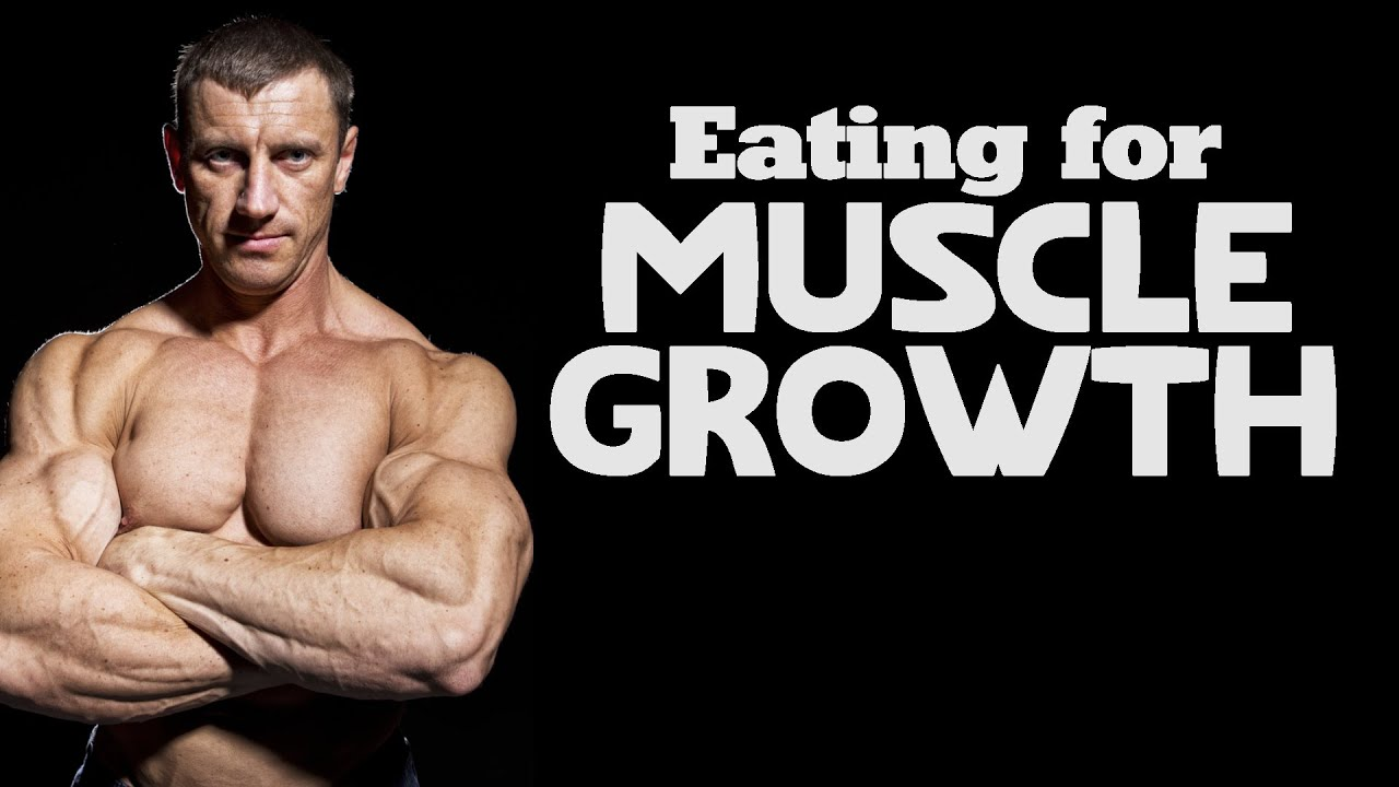 Eating for Muscle Growth in Your 20s 30s & Beyond