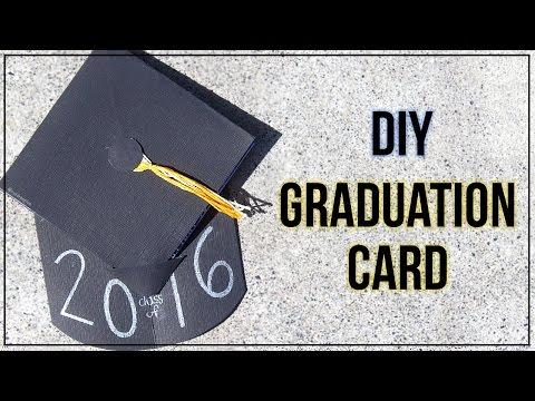How To Make A Graduation Card {Graduation Cap}