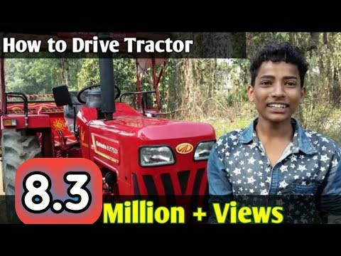 How To Drive Tractor ( Step By Step ) With Pappu