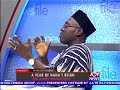 A Year of Nana's Reign - Newsfile on JoyNews (13-1-18)