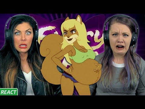 FUR-VERTS | Girls React | Furry Force 2