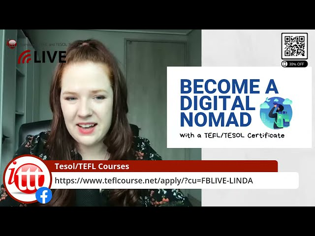 How to Become a Digital Nomad with a TEFL/TESOL Certificate