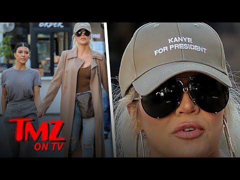 Kristina Kage - Khole Starts Campaigning for Kanye