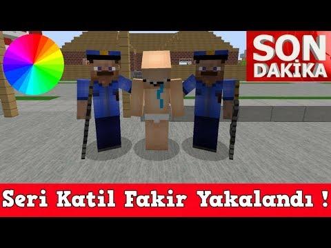 ZENGİN VS FAKİR #46 - Polisler Fakiri Yakaladı (Minecraft)