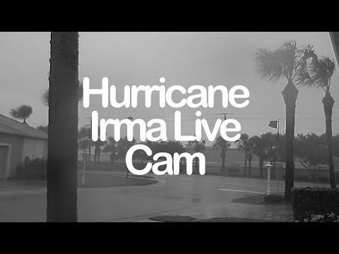 Hurricane Irma Cam (#2) - Indialantic, Florida