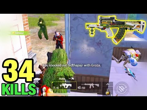 Super Power Of Groza | PUBG MOBILE