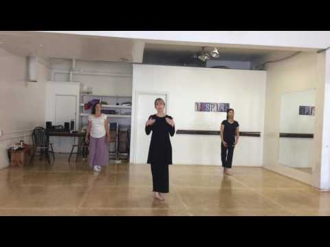 Dance Composition - Delving Actions of the Body
