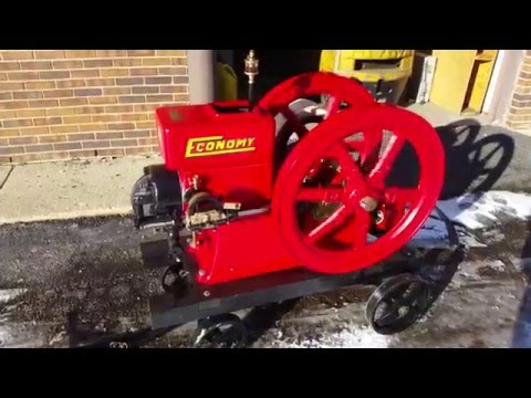 """5hp Herclles Economy Hit And Miss Engine """"Big Red"""" (1928)"""