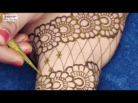 बहुत प्यारी और आसान मेहंदी डिज़ाइन Simple Easy Mehndi Design By Sonia Goyal #621