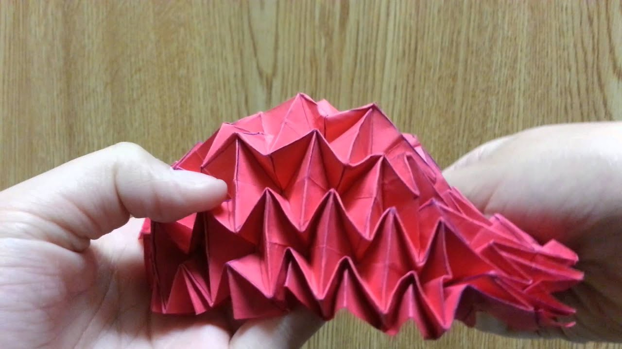Origami Magic Ball Turbo Flasher Bowl, Designed By Jeremy ... - photo#40