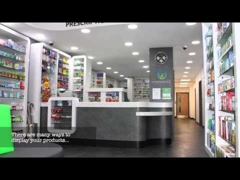 Pharmacies shop fitting service in London- Pharmacy Shopfitt