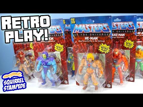 Masters of the Universe 2020 PRINCE ADAM Sky traîneau-He-Man Rétro dans la main