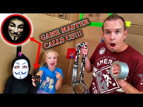Game Master Calls Us With Top Secret Demands! Madison Controls the Chubby Hackers!!!