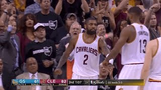 Cavs Break All-Time Playoff Record For Points In A Half With 86 | 2017 NBA Finals Game 4 Highlights